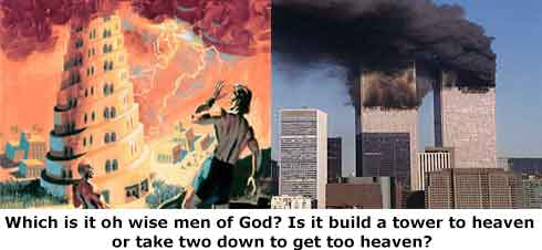G-d began speaking to me more often after the towers came down it was a trumpet call for me.